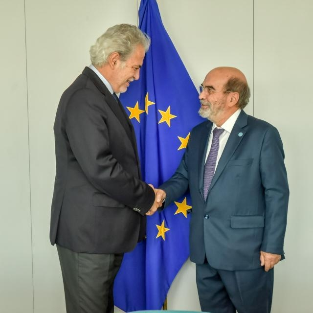 Visit of José Graziano da Silva, Director General of the Food and Agriculture Organization (FAO) of the United Nations, to the EC