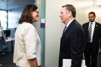 Visit of Robert Lighthizer, US Trade Representative to the EC
