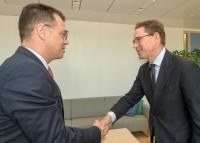 Visit of Ştefan-Radu Oprea, Romanian Minister for Business Environment, Commerce and Entrepreneurship, to the EC
