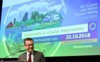 Participation de Phil Hogan et Carlos Moedas, membres de la CE, à une conférence sur la bioéconomie durable et circulaire