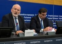 Read-out of the College meeting by Frans Timmermans, First Vice-President of the EC and Margaritis Schinas, Chief Spokesperson of the EC