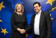 Visit of Nektarios Santorinios, Greek Deputy Minister for Shipping and Island Policy, to the EC