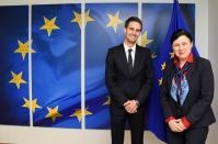 Visit of Evan Spiegel, co-founder and CEO of Snap Inc., to the EC
