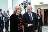 Visite de Dimitris Avramopoulos, membre de la CE et Corina Creţu, membre de la CE, en Grèce