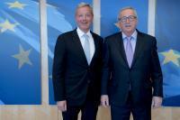 Visite de Norbert Röttgen, président de la commission des affaires étrangères du Bundestag allemand, à la CE
