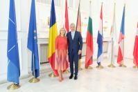 Visite de Elzbieta Bienkowska, membre de la CE, en Roumanie