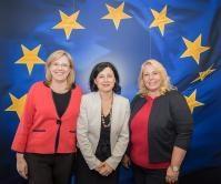 Visite de Klára Dostálová, ministre tchèque du Développement régional, à la CE