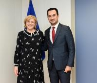 Visit of Alexis Charitsis, Greek Alternate Minister for Economy and Development, to the EC