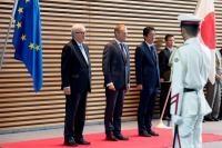 Visit of Jean-Claude Juncker, President of the EC, to Japan