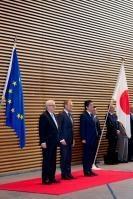 Visite de Jean-Claude Juncker, président de la CE, au Japon