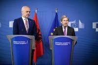Visit of Edi Rama, Albanian Prime Minister, to the EC
