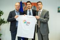 Visit of Representatives of the Association for Sport and Education of Croatia (YSG), to the EC