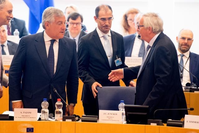 Participation of Jean-Claude Juncker, President of the EC, at the Conference of Presidents of the European Parliament
