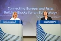 Joint press conference by Federica Mogherini, Vice President of the EC, and Violeta Bulc, Member of the EC, on the Joint Communication: Connecting Europe and Asia – Building blocks for an EU Strategy