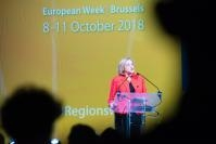 Participation of Corina Creţu, Member of the EC, at the closing session of the European Week of Regions and Cities 2018