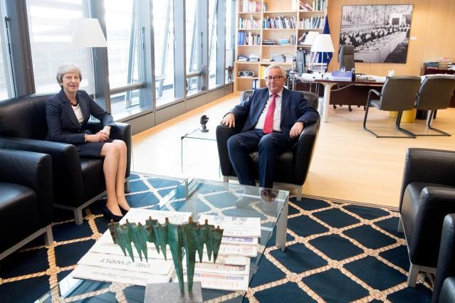 Visit of Theresa May, British Prime Minister, to the EC