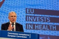 Joint press conference by Vytenis Andriukaitis and Corina Creţu, Members of the EC, on future investments in cohesion policy in health