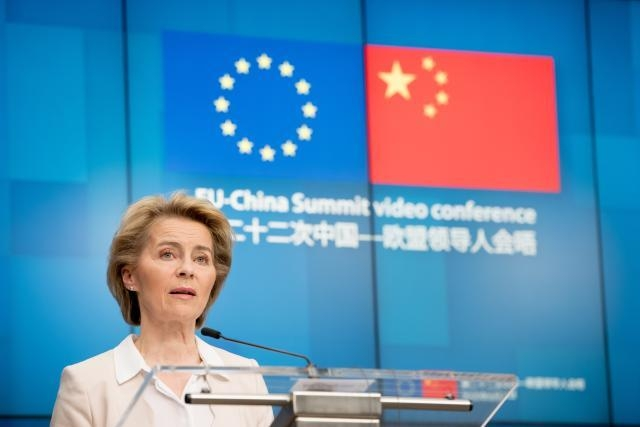 Participation of Ursula Von der Leyen, President of the European Commission, at the EU-China summit via video conference