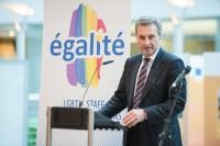 Participation of Günther Oettinger, Member of the EC, to EGALITE's 25th Anniversary Gala