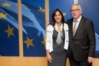 Visit of Marlene Bonnici, Maltese Permanent Representative to the EU, to the EC