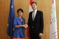 Visit by Marianne Thyssen, Member of the EC, to Austria