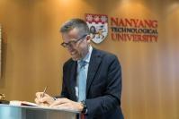 Visit of Carlos Moedas, Member of the EC to Singapore