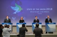 Press conference by Federica Mogherini, Jyrki Katainen, Vice-Presidents of the EC, and Neven Mimica, Member of the EC, on a new 'Africa-Europe Alliance'