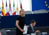 Participation of Federica Mogherini, Vice-President of the EC, at the Plenary session of the EP