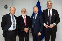 Visit of CEOs of Fortum, Vattenfall and Statkraft to the EC
