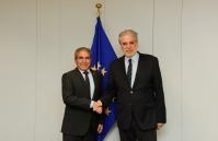 Visit of Saad Bin Mohammed Alarify, Head of the Mission of Saudi Arabia to the EU, to the EC