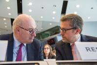 Participation de Phil Hogan et Carlos Moedas, membres de la CE, à la Conférence AgriResearch
