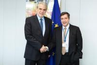 Visit of Georgios Kaminis, Mayor of Athens, to the EC