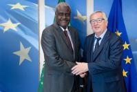 Visit of Moussa Faki Mahamat, Chairman of the African Union Commission (AUC), to the EC