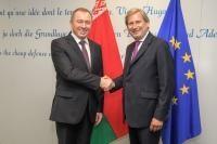 Visite de Vladimir Makei, ministre biélorusse des Affaires étrangères, à la CE