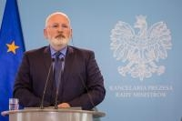 Visit by Frans Timmermans, First Vice-President of the EC, to Poland