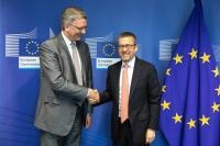 Visite de Phil Wynn Owen, membre de la Cour des comptes européenne, à la CE
