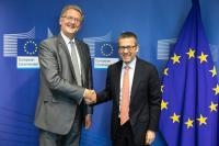 Visit of Phil Wynn Owen, Member the European Court of Auditors, to the EC