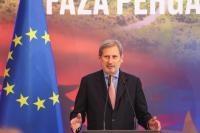Visite de Johannes Hahn, membre de la CE, en Albanie