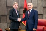Visit by Johannes Hahn, Member of the EC, to Albania