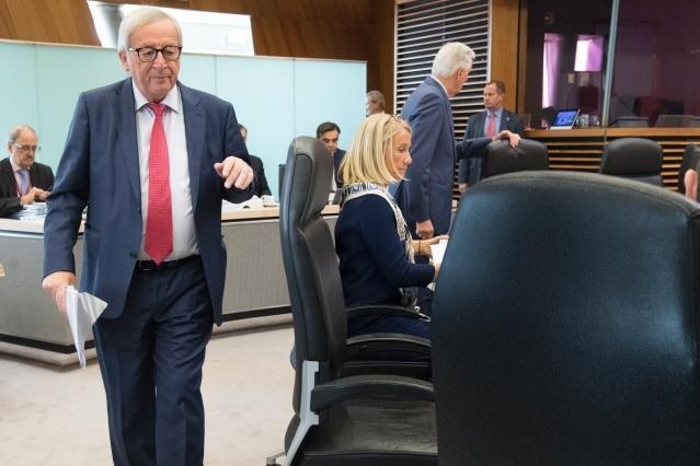 Weekly meeting of the Juncker Commission (17/10/2018)