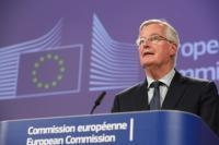 Press point by Michel Barnier, EC Chief negotiator for Article 50 negotiations with the United Kingdom