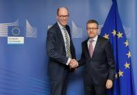 Visit of Peter-André Alt, President of the Hochschulrektorenkonferenz, to the EC