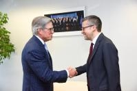 Visit of Peter T. Grauer, Chairman of the Board at Bloomberg L.P., to the EC