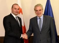 Visit of Christos Stylianides, Member of the EC, to Georgia