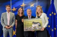 Visit of Representatives of the Eurogroup for Animals to the EC