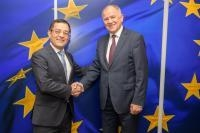 Visit of Mauricio Escanero, Head of the Mission of Mexico to the EU and Ambassador to Belgium and Luxembourg, to the EC