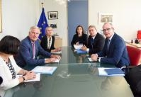 Visit of Simon Coveney, Irish Deputy Prime Minister (Tánaiste), to the EC