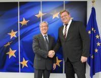 Visit of Harald T. Nesvik, Norwegian Minister for Fisheries, to the EC
