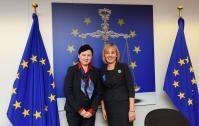 Visite de Maya Manolova, médiatrice bulgare, à la CE