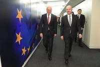 Visite de Pavel Filip, Premier ministre moldave, à la CE
